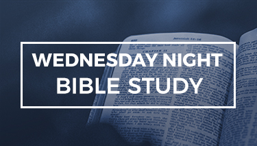 WEDNESDAY NIGHT BIBLE STUDY LIVE