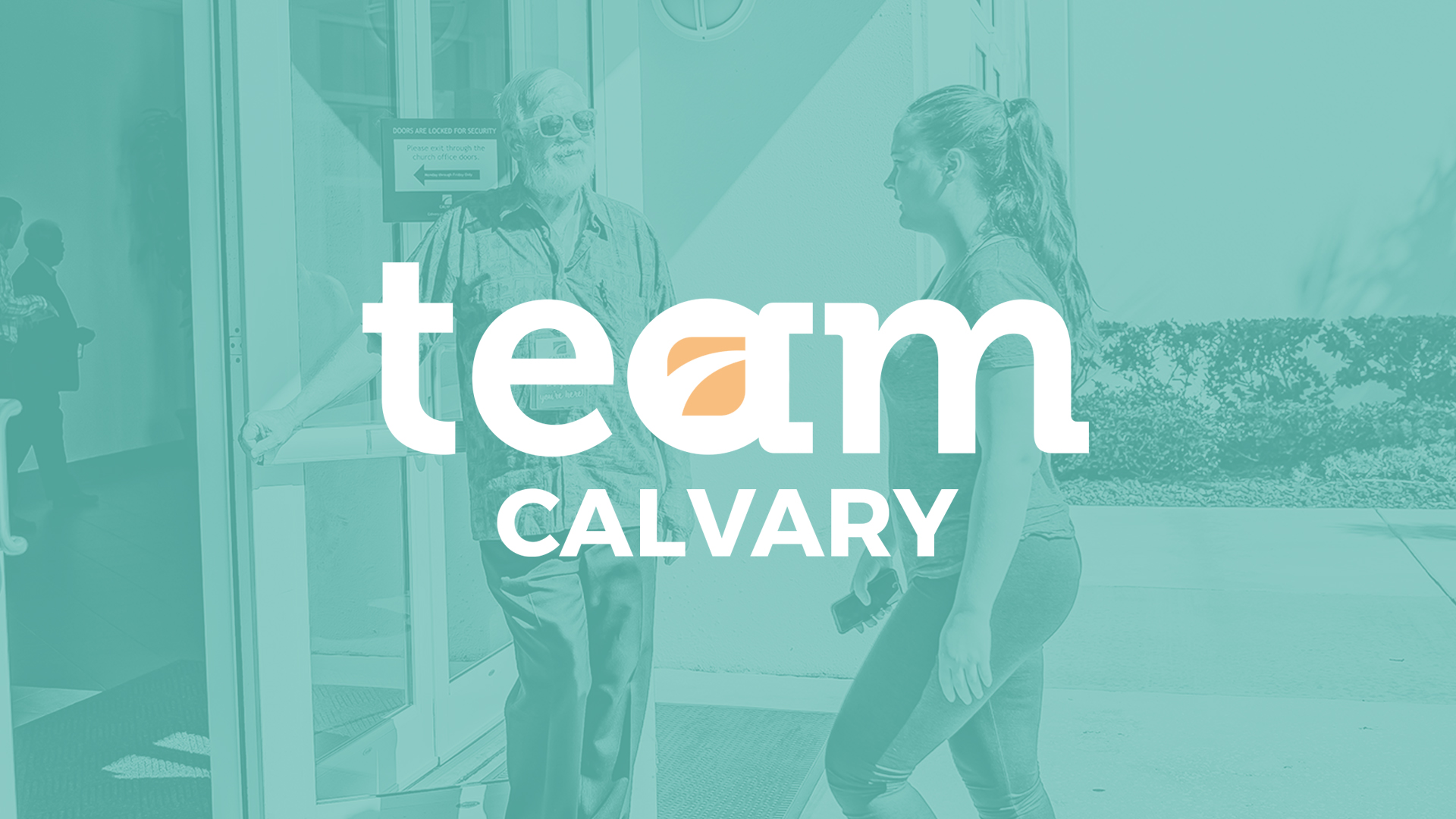 Team Calvary Volunteer Orientation - Calvary Church Pinellas County